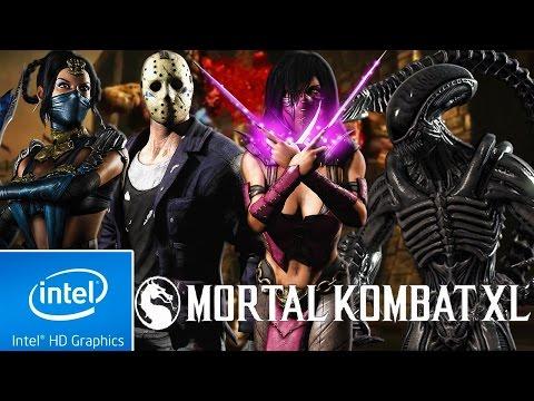 Mortal Kombat XL | LOW END PC CONFIG | INTEL HD 4000 | 4 GB RAM | i3 |