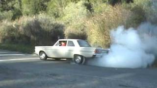 1964 Mercury Comet Burnout