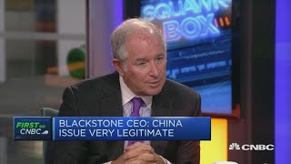 Blackstone CEO: China is a 'legitimate issue to deal with' | Squawk Box Europe