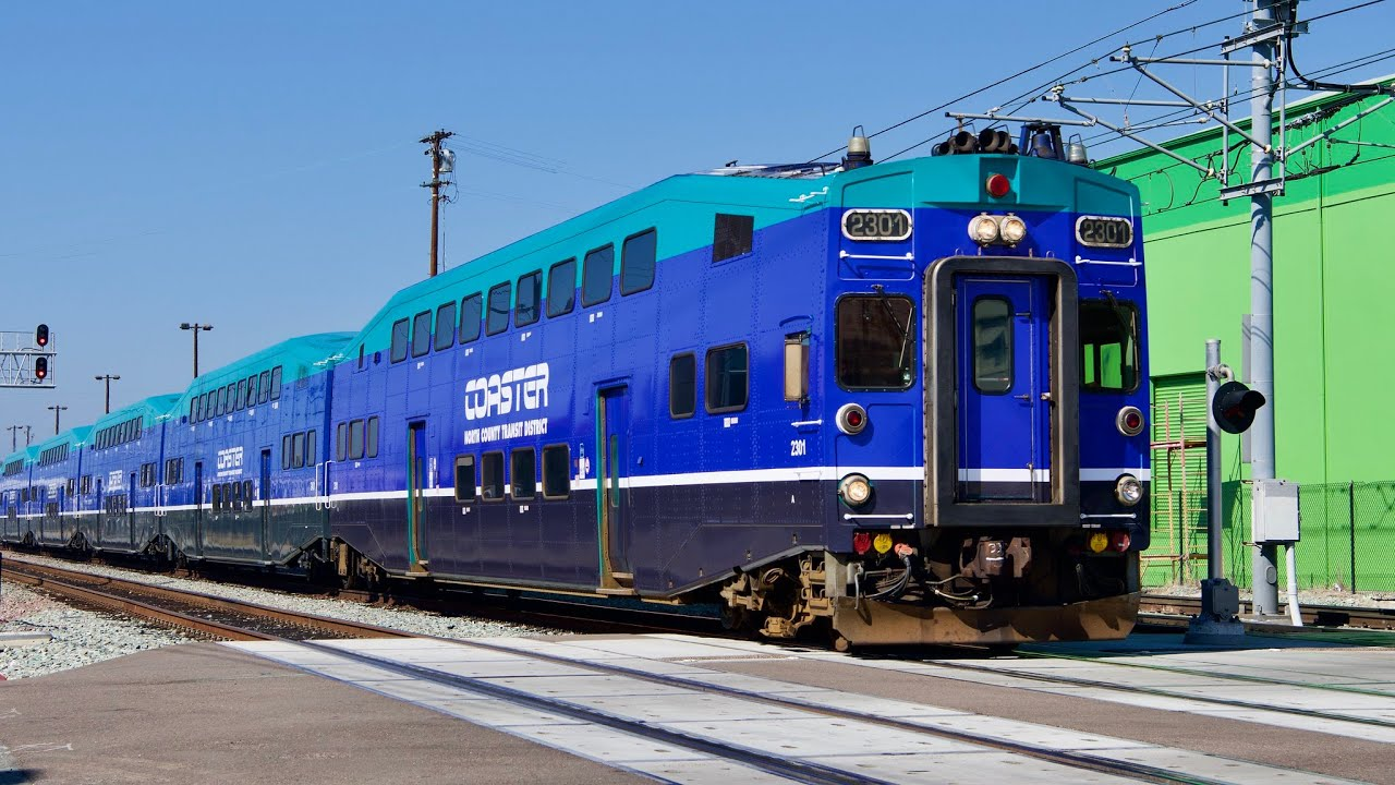 San Diego Trains 2021