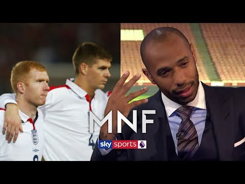 Thierry Henry chooses between Paul Scholes & Steven Gerrard