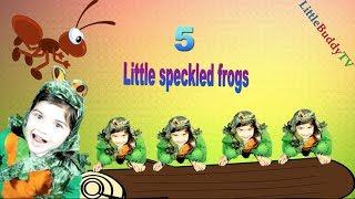 Five Little Speckled Frogs Nursery Rhymes