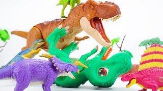 Dino Mecard Double Action Figure  Einiosaurus Carcharodontosaurus Dimetrodon Psittacosaurus |ToyMoon thumbnail