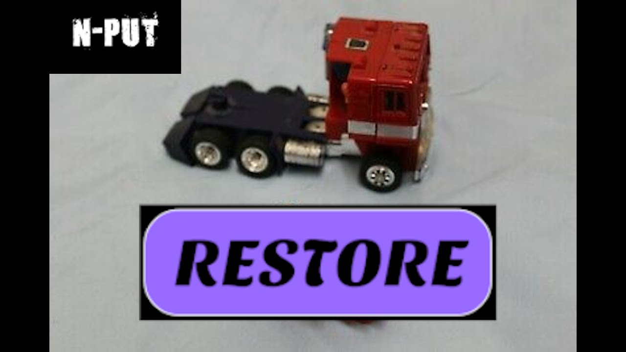 G1 Optimus Prime Restoration Part 1 by N-PUT