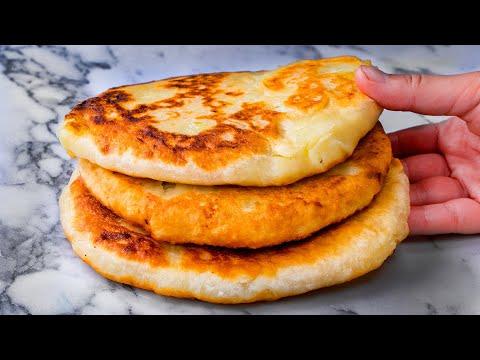 voici-une-recette-simple-et-délicieuse!-tartes-aux-pommes-de-terre-à-la-poêle.|-savoureux.tv