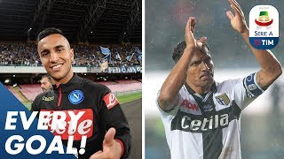 Alves Outrageous Free Kick And Ounas Absolute Screamer   EVERY Goal   Round 15   Serie A