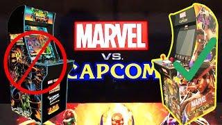 Marvel Vs. Capcom Arcade1Up Cabinet Mod