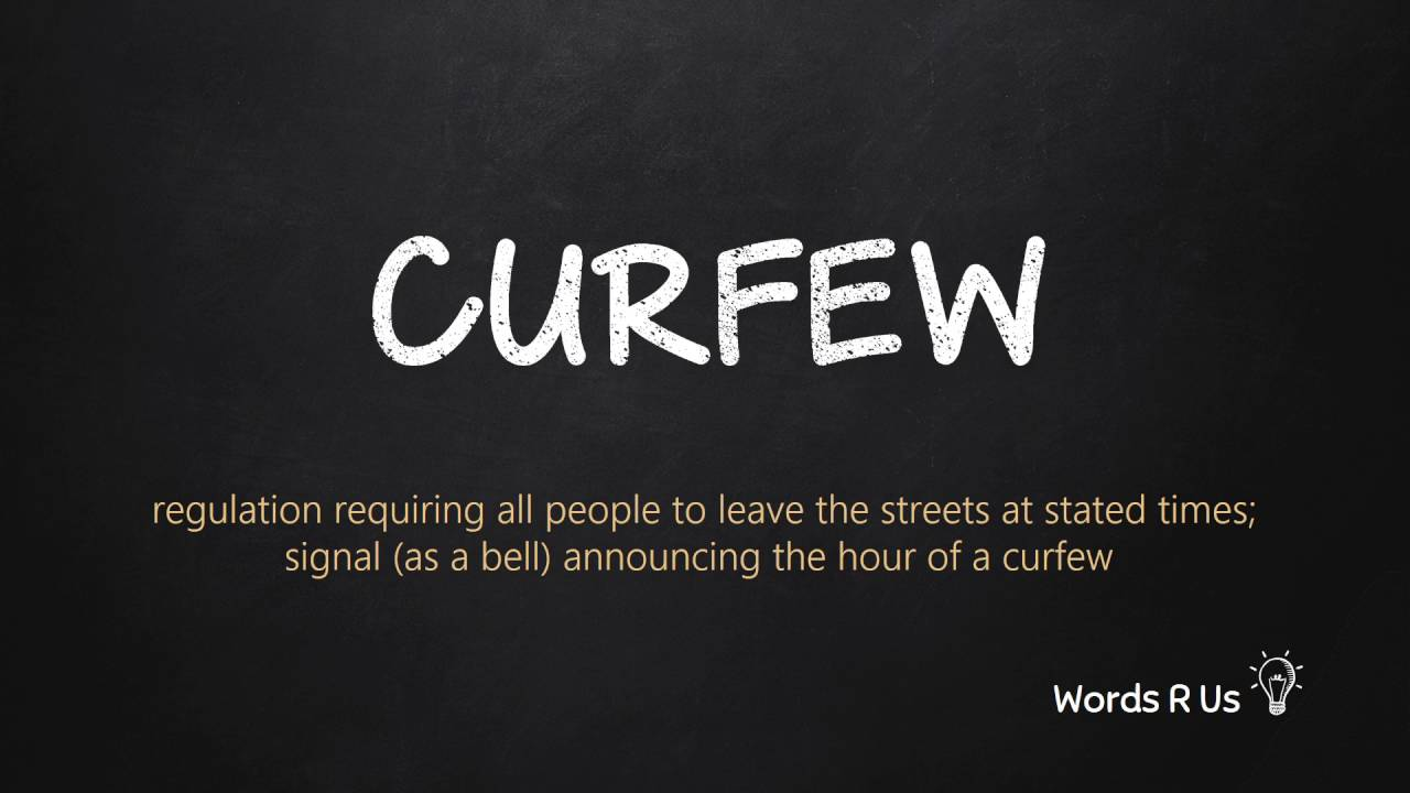 How to Pronounce CURFEW in American English