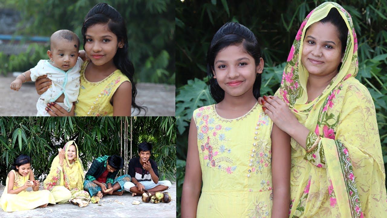 নানুর বাড়ির তাল গাছের আম এবং তাল গাছের জাম !! Bangladeshi Village Family Vlog | Sakib | Suton | Sati