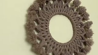 Jute Circle Art || Wall Hanging Craft Idea Using Jute || Handmade Craft Idea || DIY Room Decor 2018
