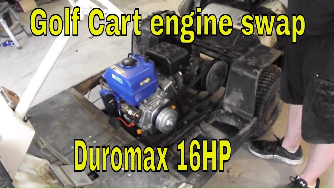 1986 yamaha golf cart wiring diagram    golf       cart    engine swap 16hp duromax youtube     golf       cart    engine swap 16hp duromax youtube