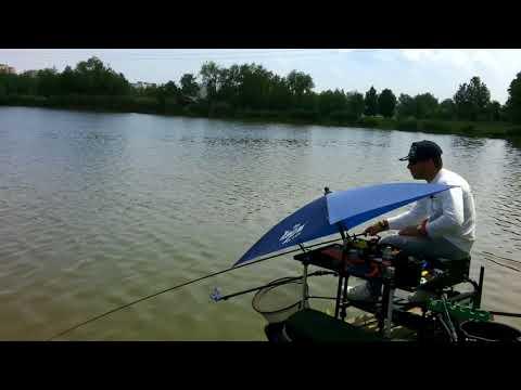Feeder horgászat-Palotavárosi felső tó Method OB gyakorlás