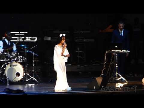 Jhene Aiko Live Concert Toronto 2014