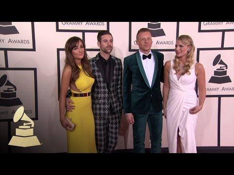 Macklemore & Ryan Lewis: 56th GRAMMY Red Carpet Fashion Cam | GRAMMYs