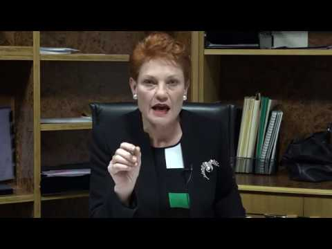 Pauline Hanson Disgusted with $320 million dollar African scholarship program to Australia