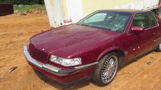 Abused and beaten 1993 Cadillac Eldorado