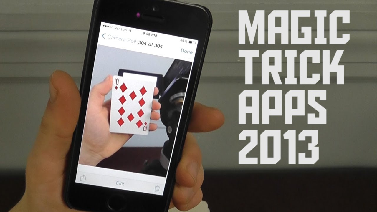 Best magic trick apps of 2013 youtube Magic app