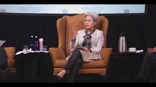 Madame Fu Ying Speaks At NYU