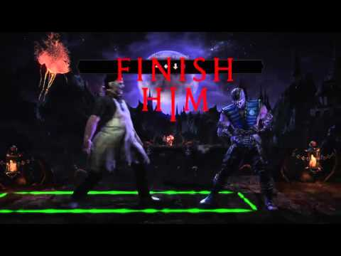 Leatherface how to do stage fatality !