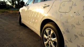 авто на свадьбу Днепропетровск Toyota Swarovski
