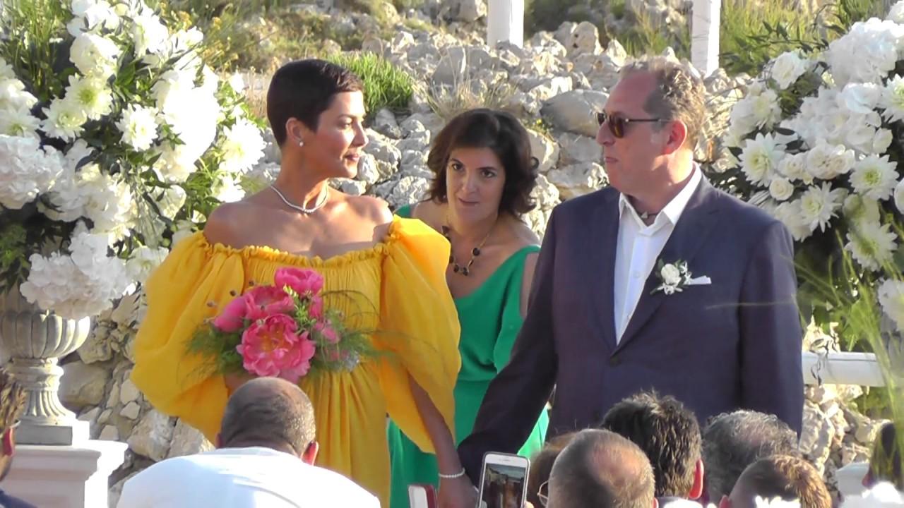 Wedding Vip In Capri Mariage Cristina Cordula Et Frédéric Cassin