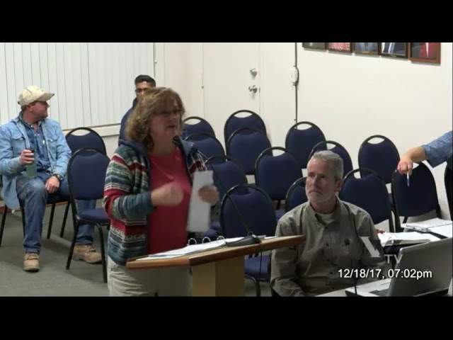 City of Cottonwood Planning and Zoning Commission December 18 2017