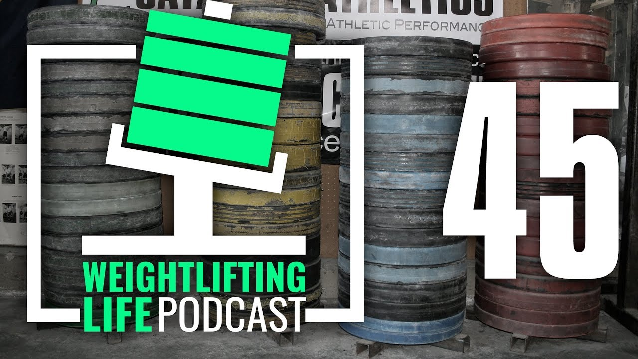 Weightlifting life podcast raising heels awkward foot