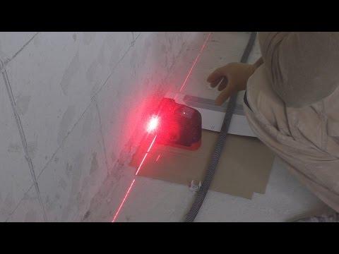 видео: Современный способ качественной установки маяков под штукатурку!