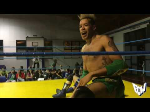 FCW Unleashed Energy: El Falkovs Marrow vs Horus vs Marçio Silva