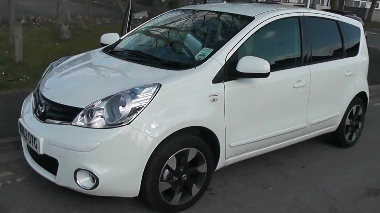 wr62otg used nissan note n tec in arctic white at wessex garages pennywell rd bristol youtube. Black Bedroom Furniture Sets. Home Design Ideas