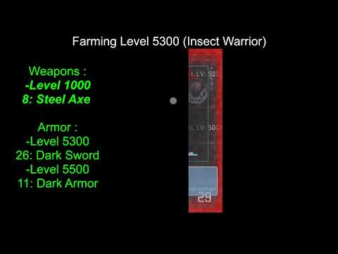 [Playthrough] Inflation RPG ► Items Farming #1 ♦ [Weapons N°8-26★Armor N°11]