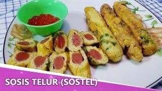 Resep Sosis Telur (Sostel)