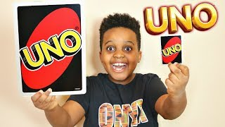 SHILOH PLAYS GIANT UNO! - Onyx Family