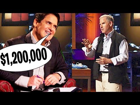 Mark Cuban Offers $1.25 Million For ENTIRE COMPANY (Shark Tank)