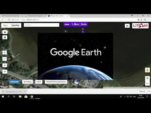 Chrome Litchi Virtual Mission