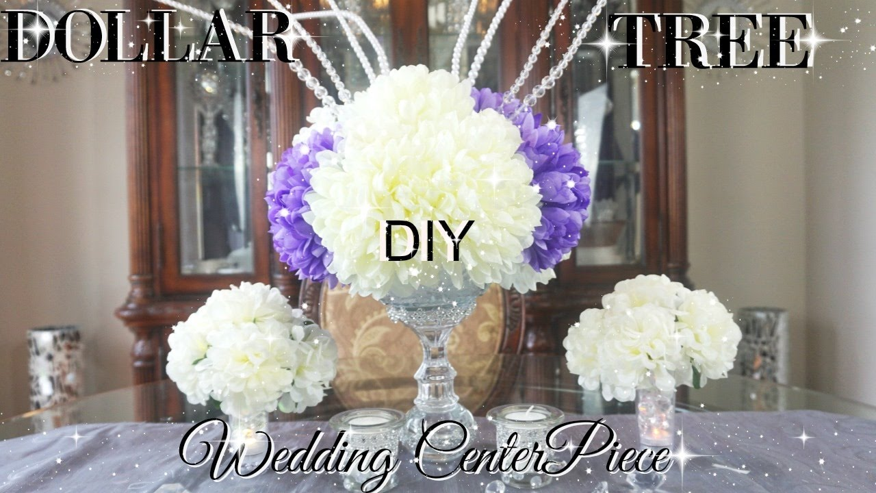 DIY DOLLAR TREE BLING WEDDING CENTERPIECES 2017 PETALISBLESS ...