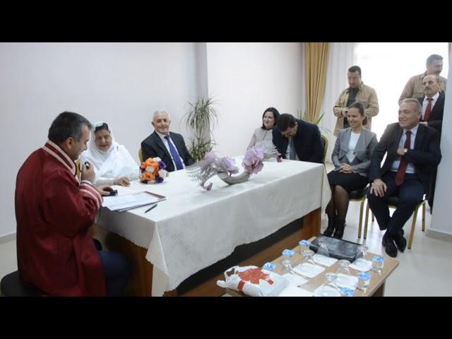 Erzincan Valisi Ali Arslantaş ve Eşi Hatice Arslantaş, Huzurevi Âşıklarının Nikâh Şahidi Oldular
