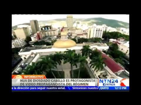 Hija de Diosdado Cabello protagoniza video de propaganda promoviendo el Chavismo