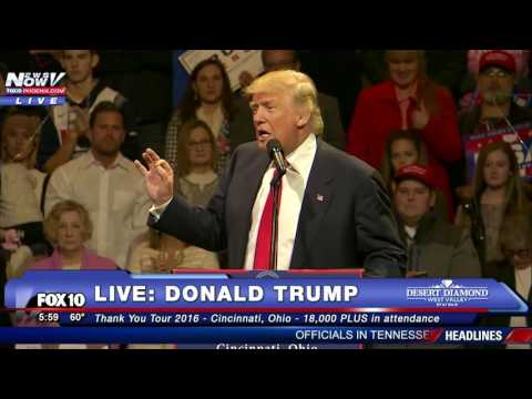 FNN: Donald Trump Thank You Tour 2016 - Cincinnati, Ohio 12/