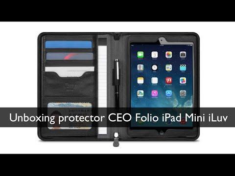 Unboxing Protector CEO Folio para iPad Mini, iPad Mini Retina iLuv
