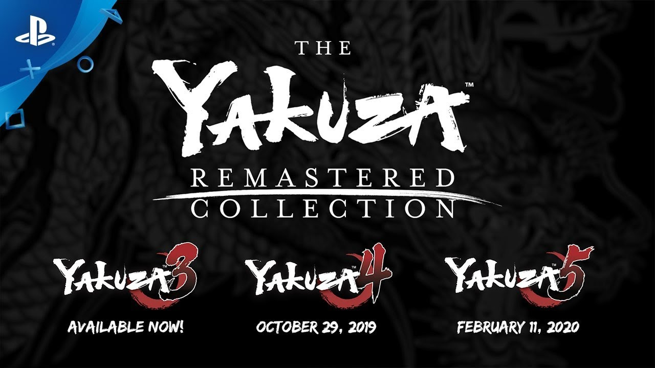 The Yakuza Remastered Collection - Announcement Trailer | PS4