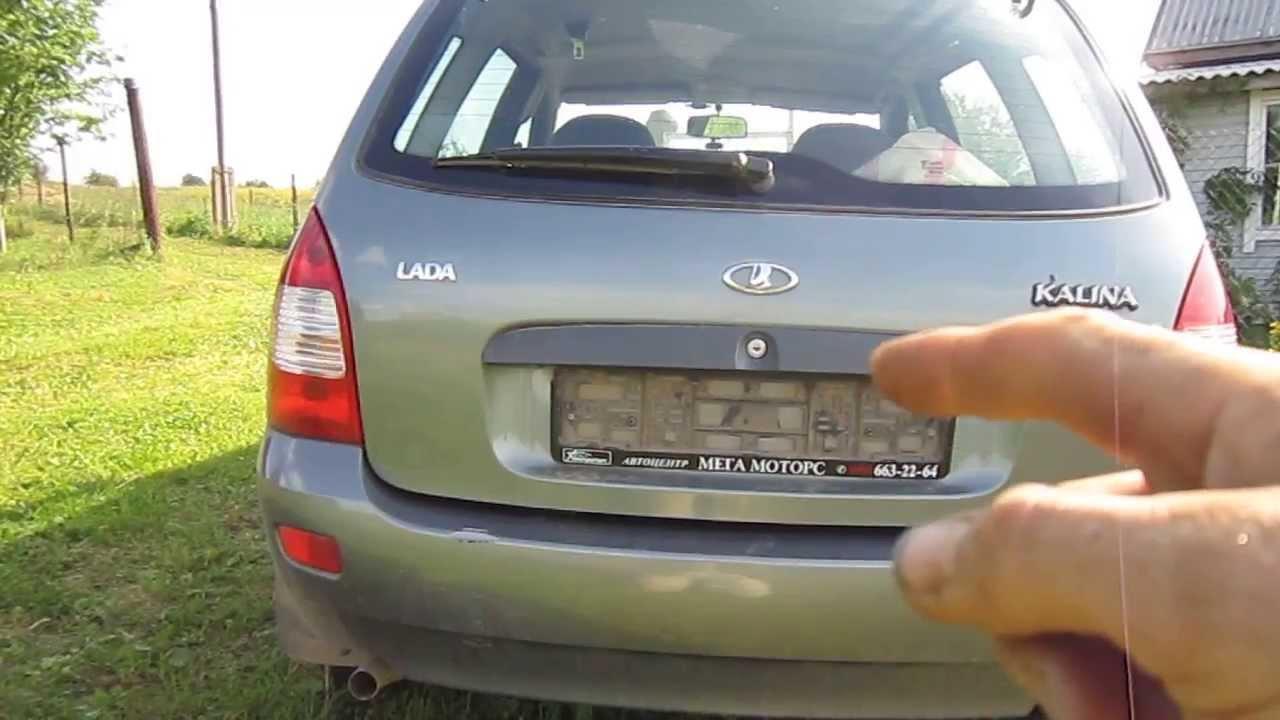 видео ваз 1119 дверей ламборджини
