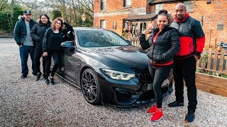 FAMILY REACTS TO 720BHP BMW M4 *ARMYTRIX*