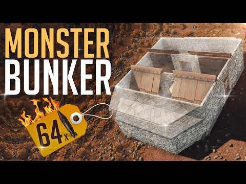 STRONGEST BUNKER BASE EVER! - Rust