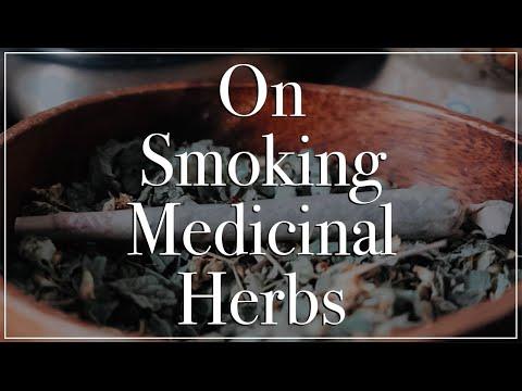 On Smoking Medicinal Herbs