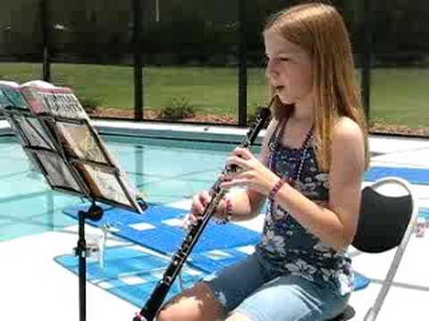 My first alone oboe concert (4th of July)
