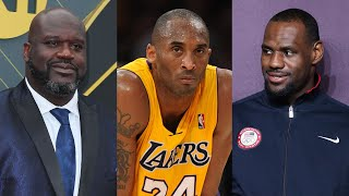 Kobe Bryant: Shaquille O'Neal and LeBron James Will Bring You to TEARS with Emotional Tributes