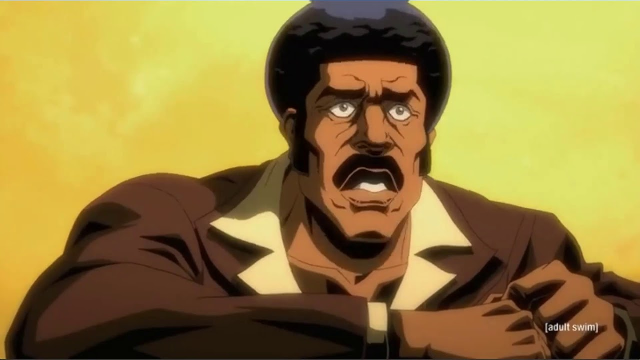 Download BLACK DYNAMITE LEARNS HOW TO SWIM.