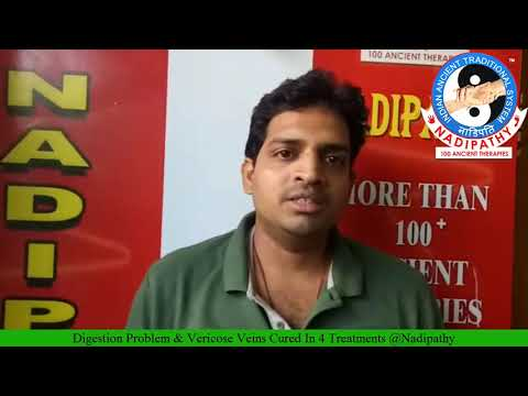 Digestion Problem & Vericose Veins Cured In 4 Treatments @ Nadipathyиз YouTube · Длительность: 1 мин22 с