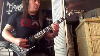 Amon Amarth - The Arrival Of The Fimbulwinter guitar cover